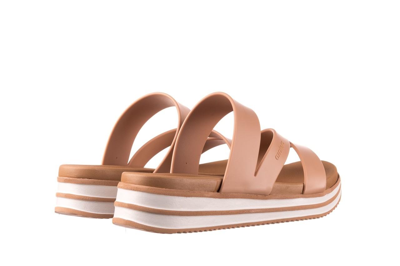 Klapki azaleia 260 496 nude, beż, guma  - klapki - buty damskie - kobieta 11