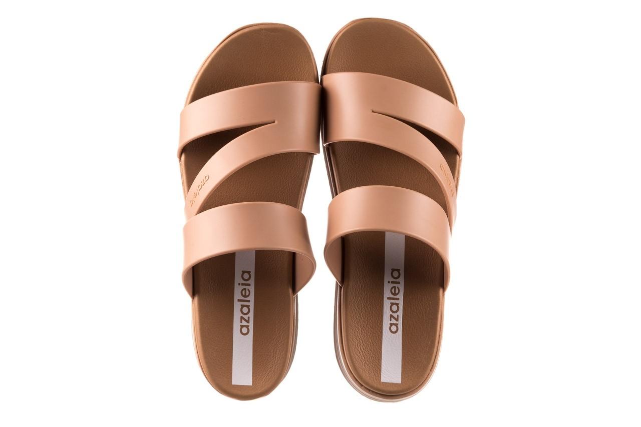 Klapki azaleia 260 496 nude, beż, guma  - klapki - buty damskie - kobieta 12