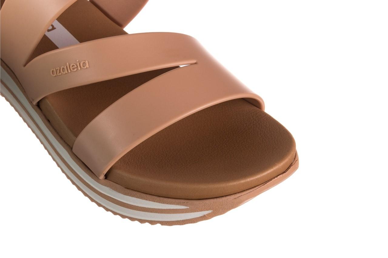 Klapki azaleia 260 496 nude, beż, guma  - klapki - buty damskie - kobieta 13