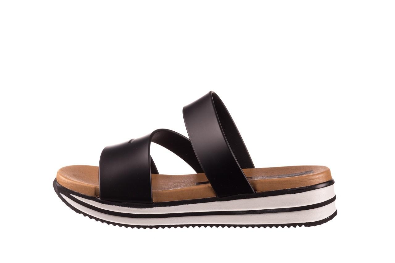Klapki azaleia 260 496 black, czarny, guma - klapki - buty damskie - kobieta 10