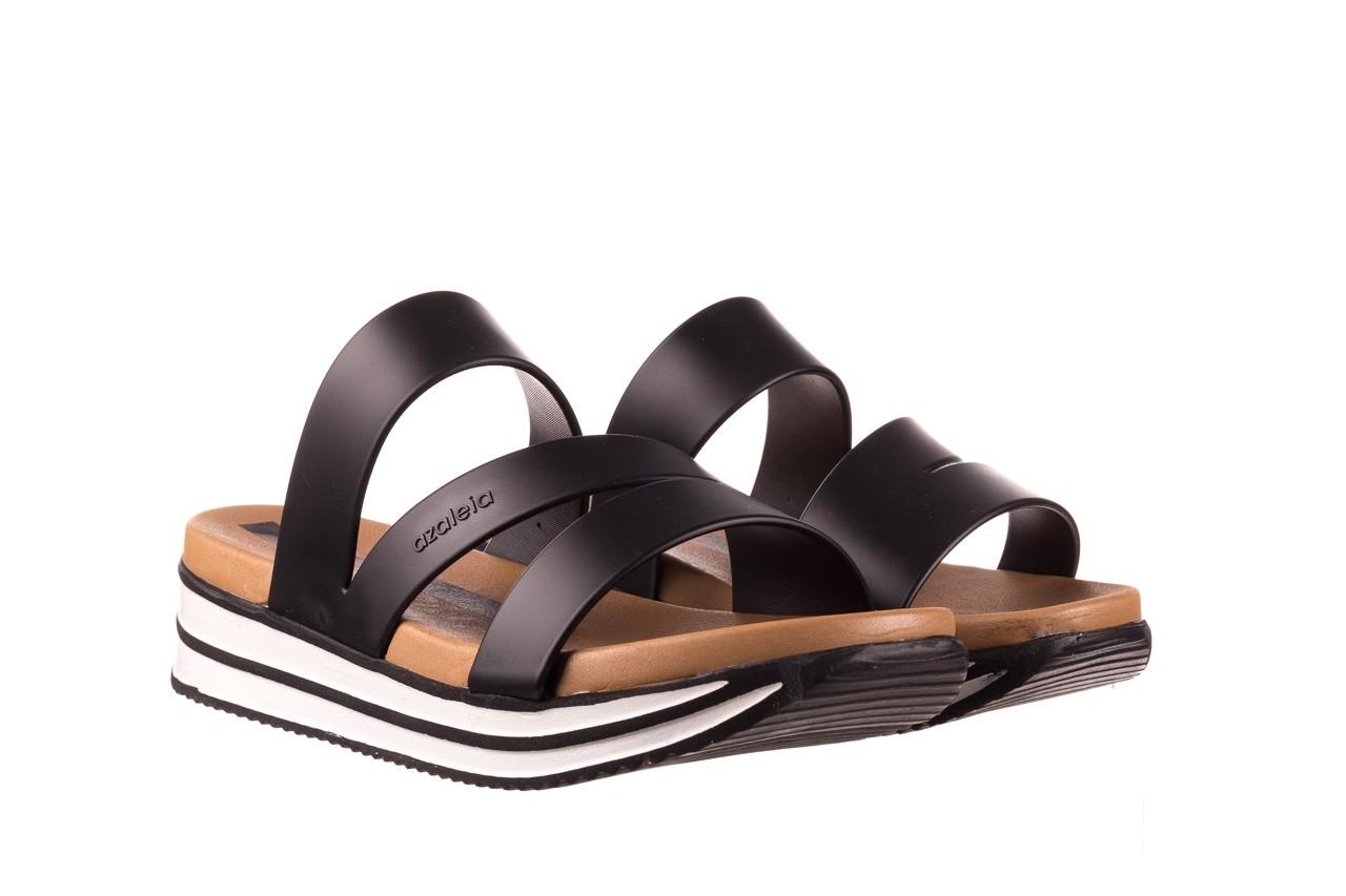 Klapki azaleia 260 496 black, czarny, guma - klapki - buty damskie - kobieta 9
