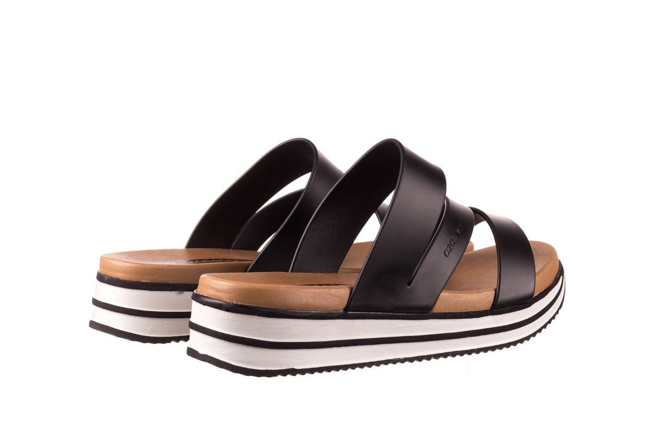 Klapki azaleia 260 496 black, czarny, guma - klapki - buty damskie - kobieta 11