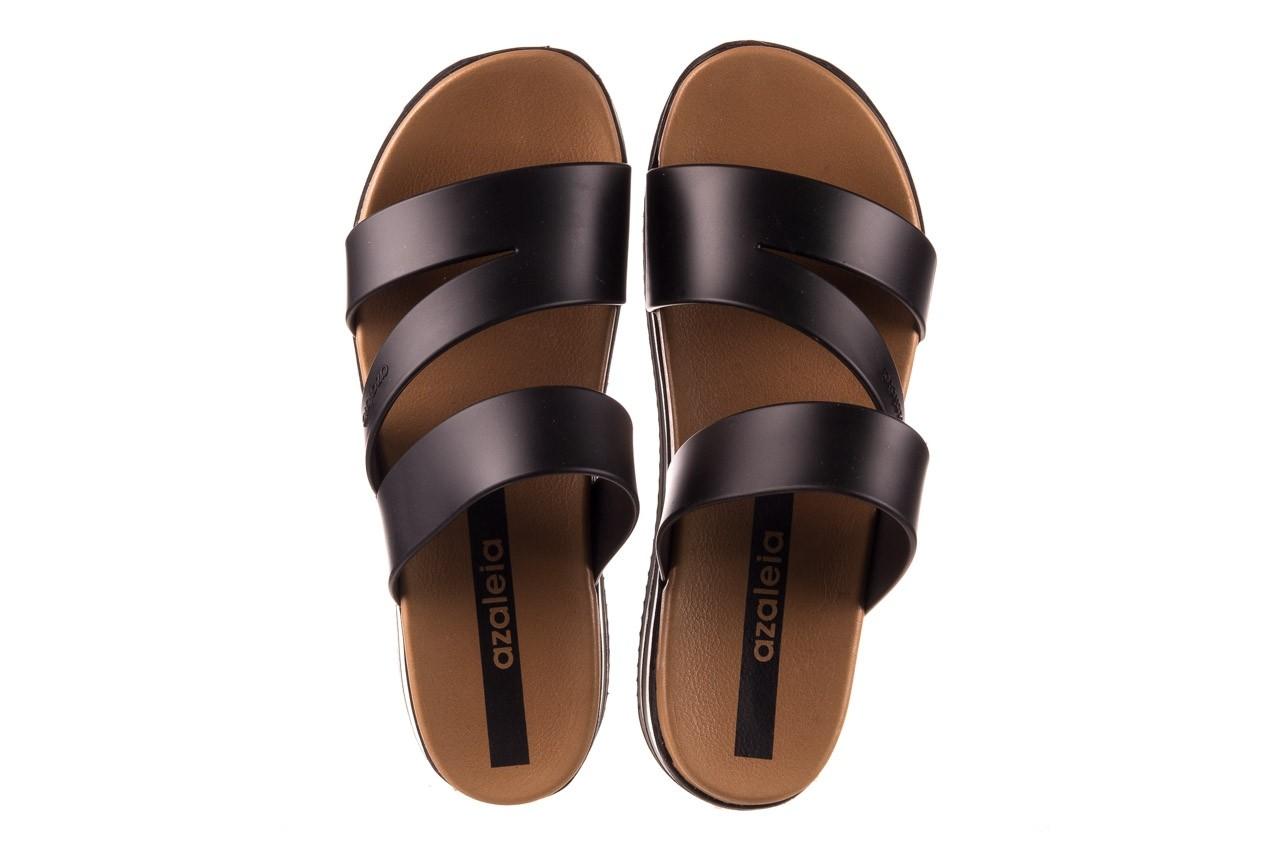 Klapki azaleia 260 496 black, czarny, guma - klapki - buty damskie - kobieta 12