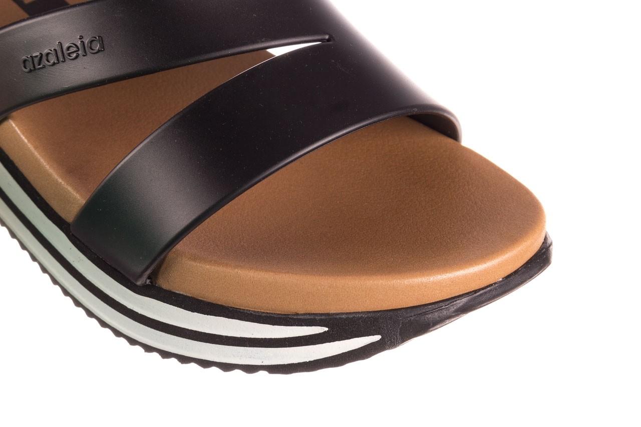 Klapki azaleia 260 496 black, czarny, guma - klapki - buty damskie - kobieta 13