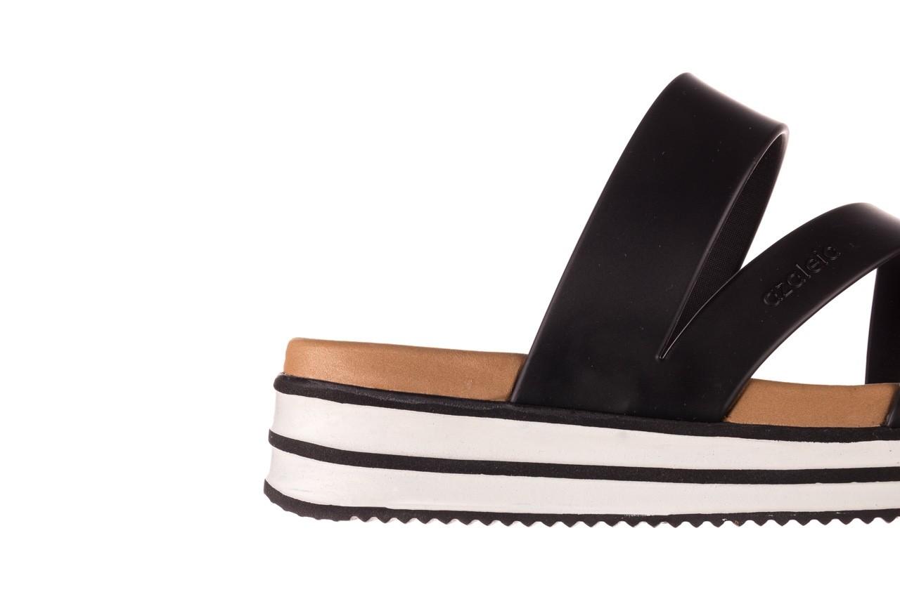 Klapki azaleia 260 496 black, czarny, guma - klapki - buty damskie - kobieta 14