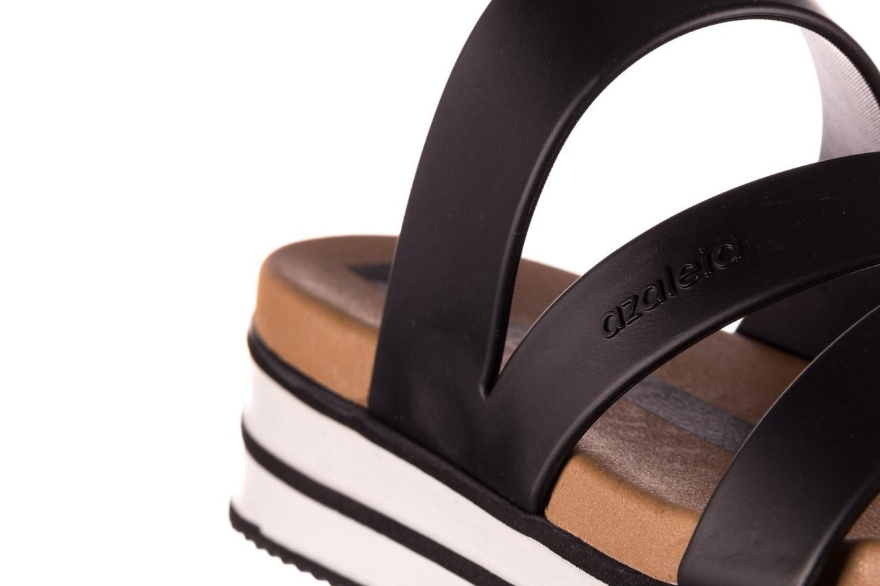 Klapki azaleia 260 496 black, czarny, guma - klapki - buty damskie - kobieta 15