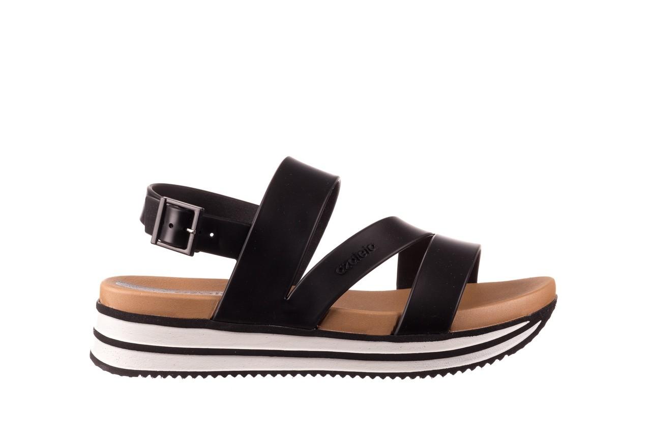 Sandały azaleia 260 497 black, czarny, guma - gumowe - sandały - buty damskie - kobieta 9