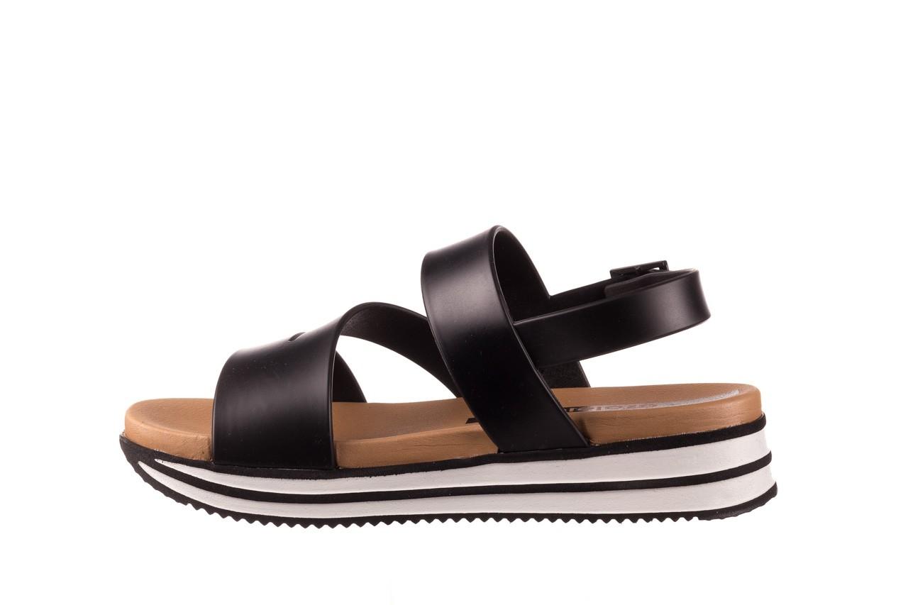 Sandały azaleia 260 497 black, czarny, guma - gumowe - sandały - buty damskie - kobieta 11