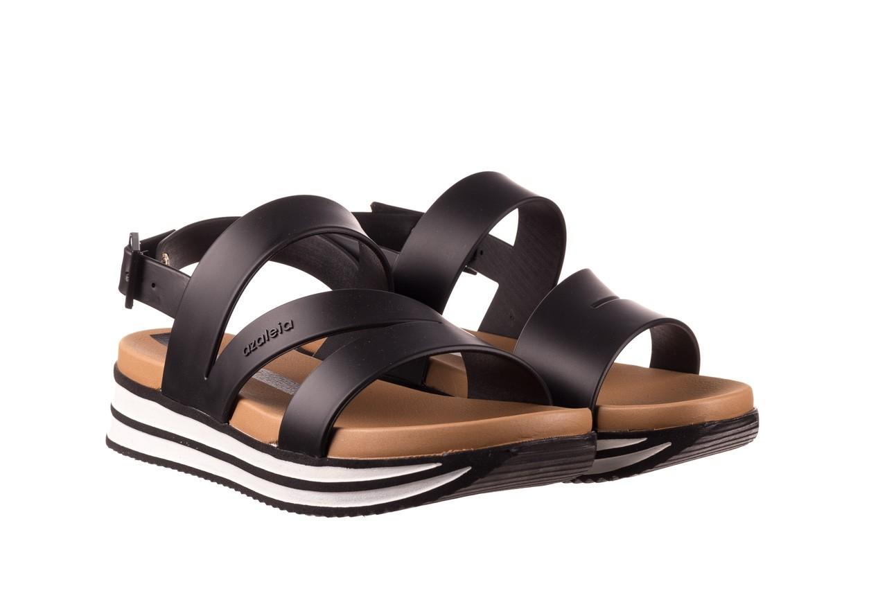 Sandały azaleia 260 497 black, czarny, guma - gumowe - sandały - buty damskie - kobieta 10
