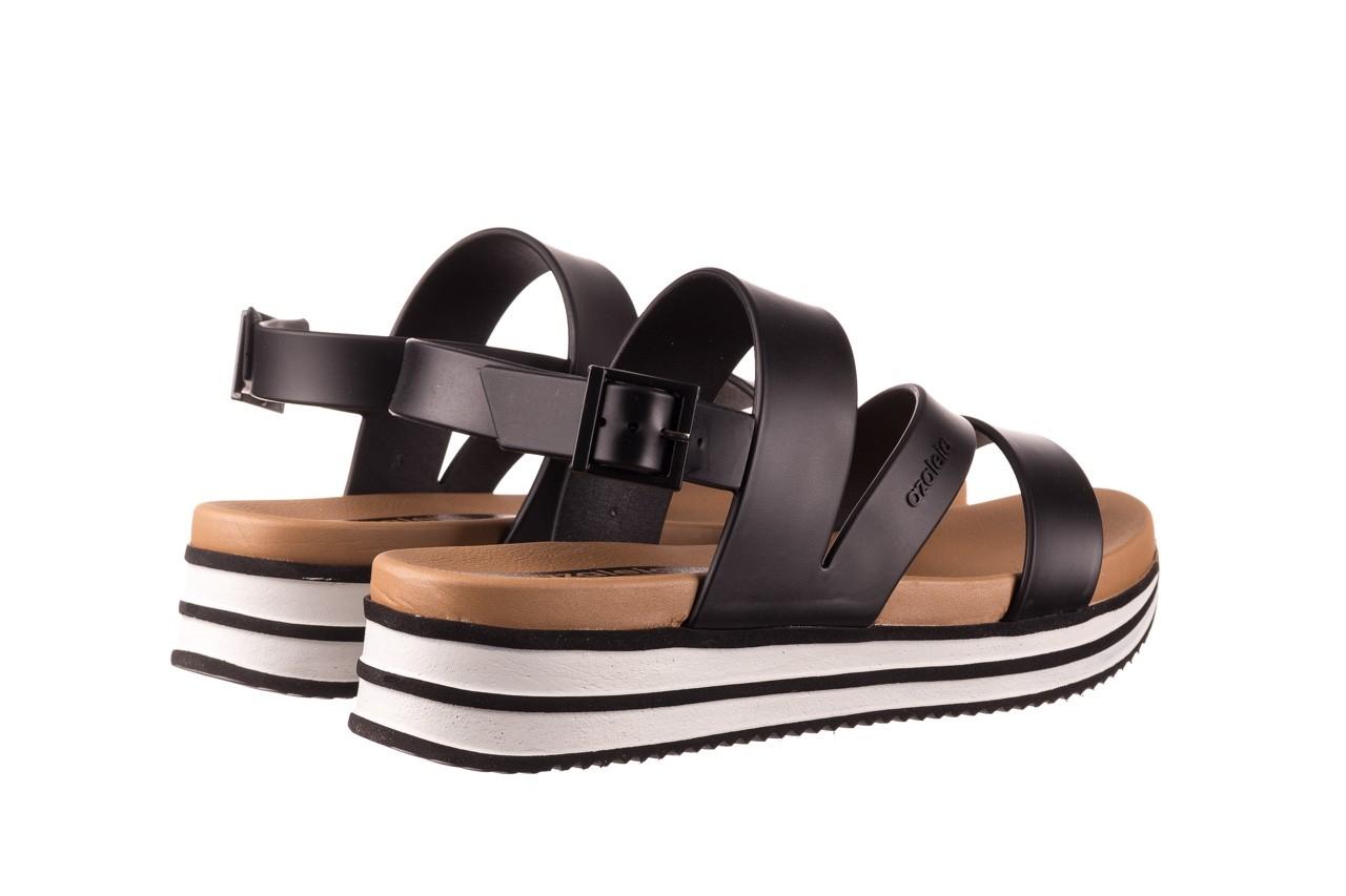 Sandały azaleia 260 497 black, czarny, guma - gumowe - sandały - buty damskie - kobieta 12