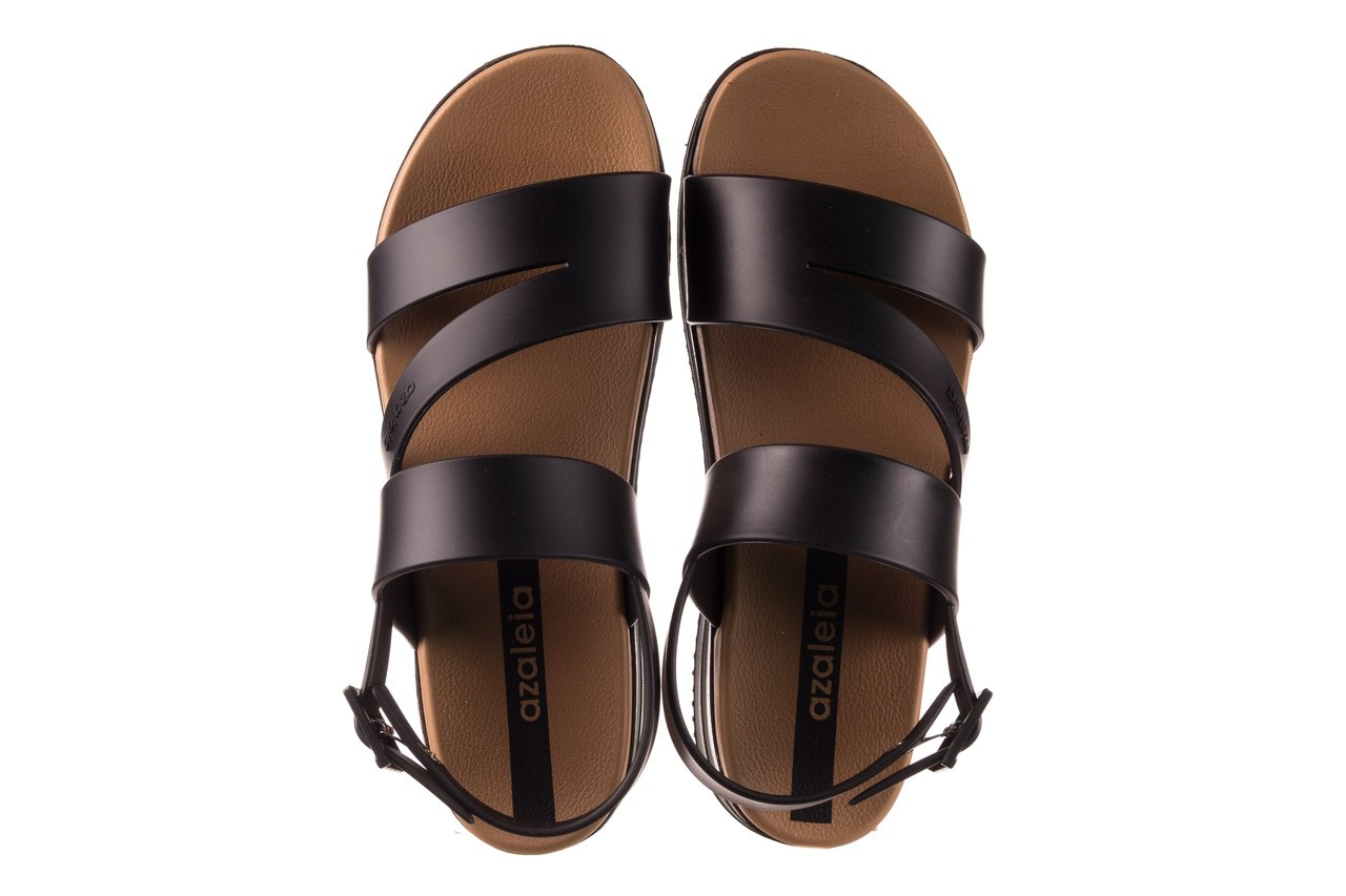 Sandały azaleia 260 497 black, czarny, guma - gumowe - sandały - buty damskie - kobieta 13