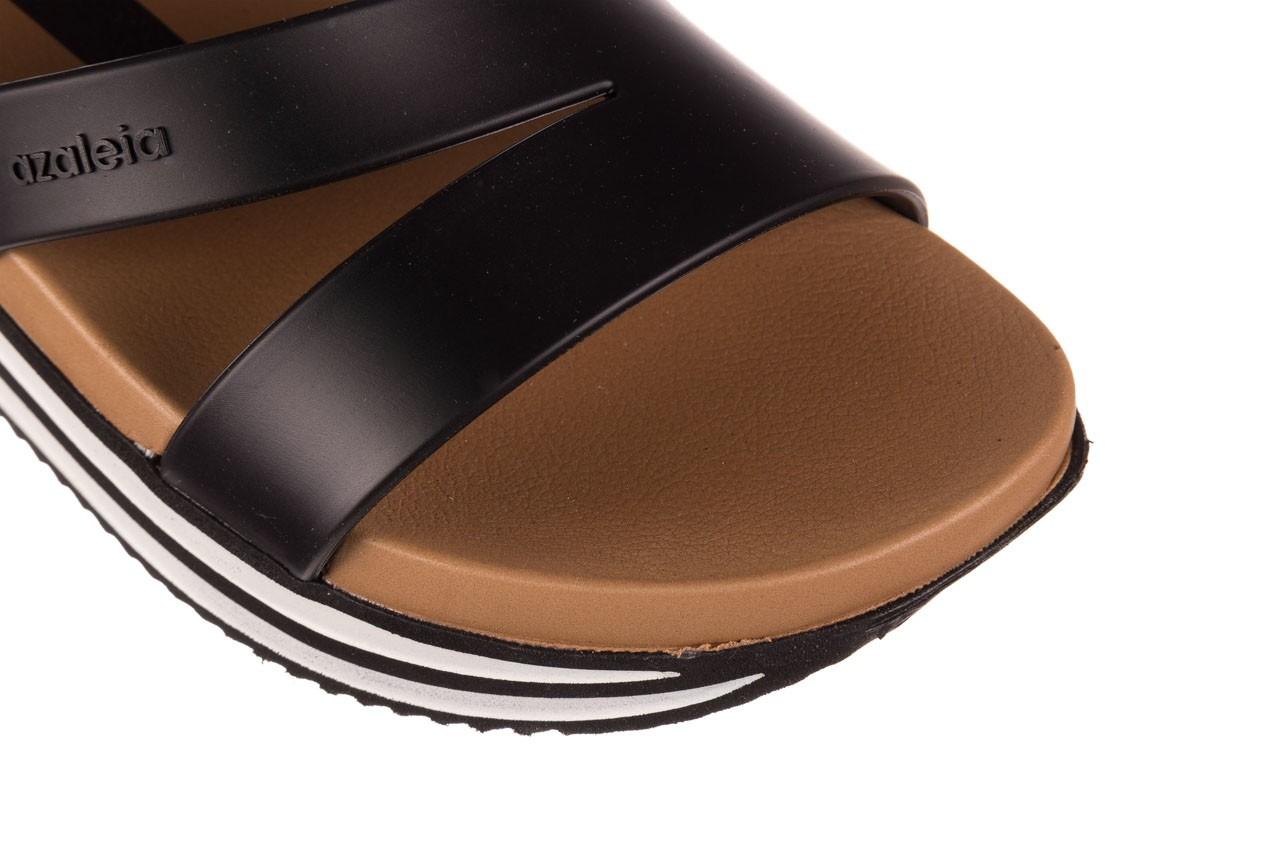 Sandały azaleia 260 497 black, czarny, guma - gumowe - sandały - buty damskie - kobieta 14