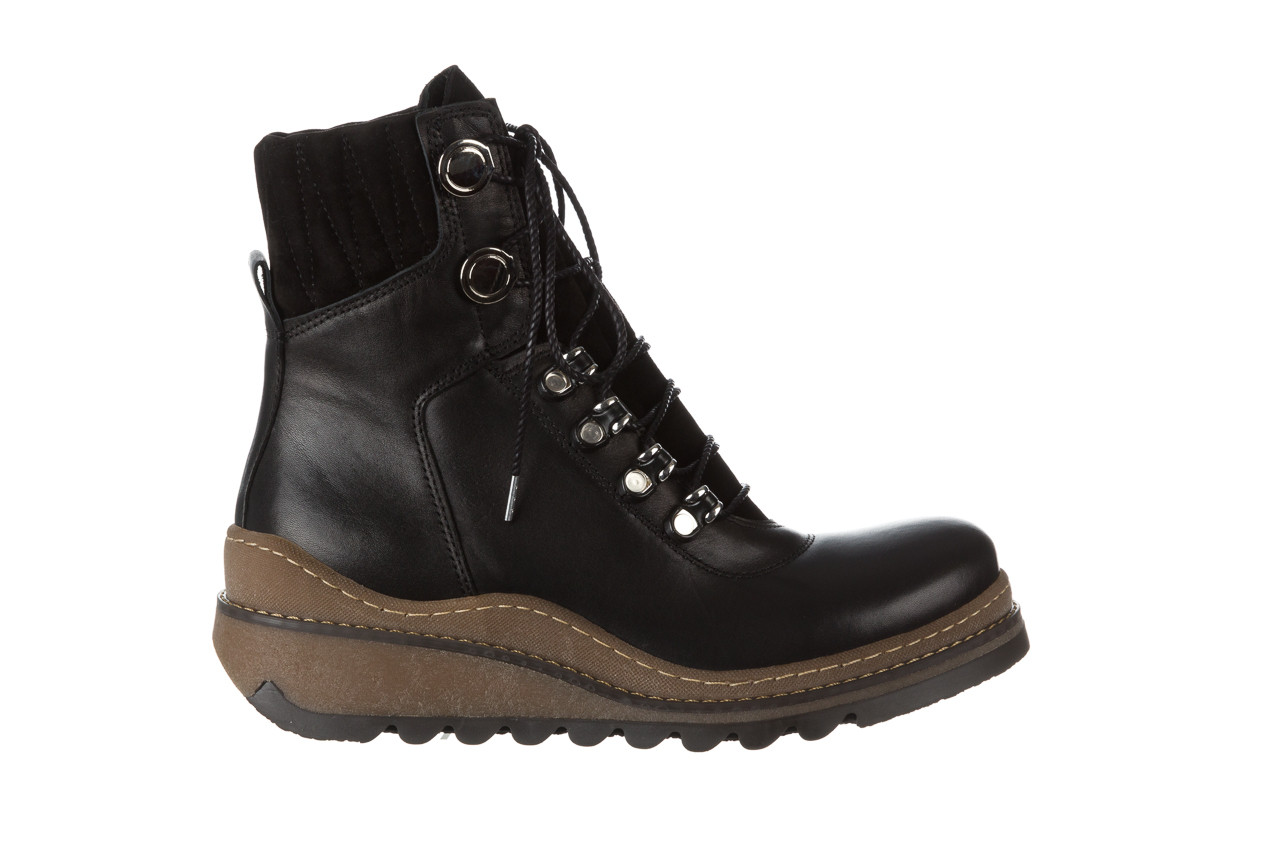 Trzewiki bayla 161 050 0401 9 01 28 black 161168, czarny, skóra naturalna  - trzewiki - buty damskie - kobieta 12