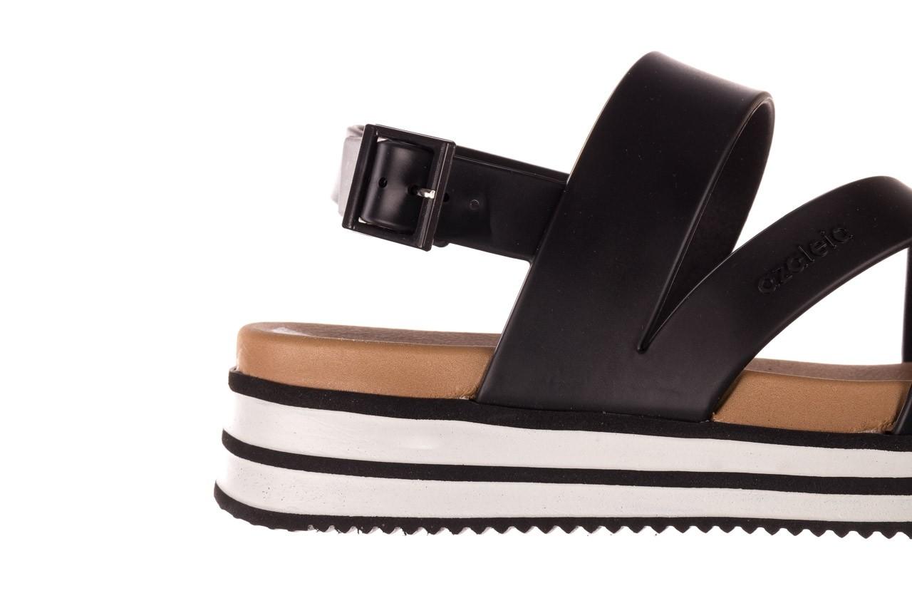 Sandały azaleia 260 497 black, czarny, guma - gumowe - sandały - buty damskie - kobieta 15