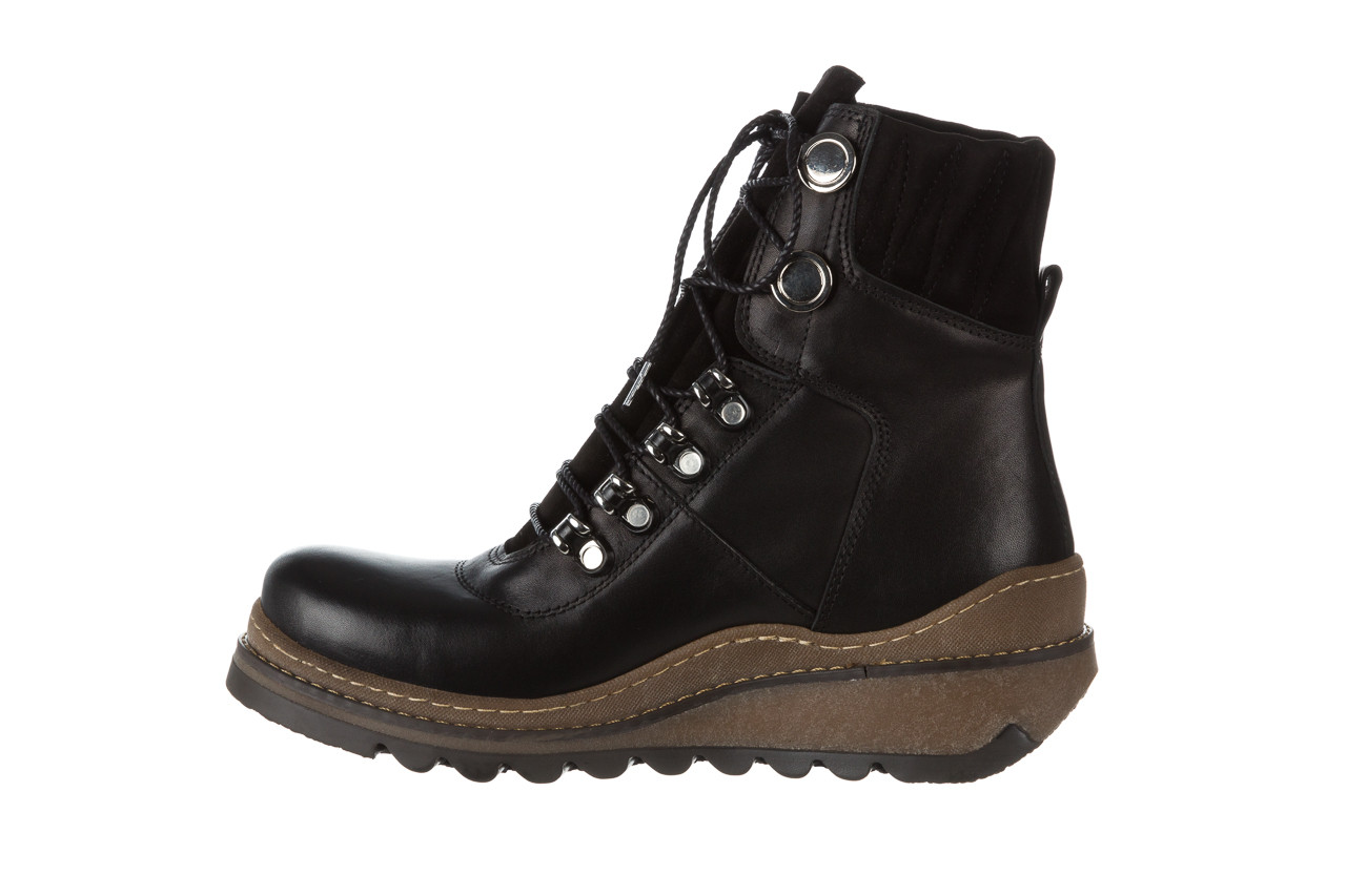 Trzewiki bayla 161 050 0401 9 01 28 black 161168, czarny, skóra naturalna  - trzewiki - buty damskie - kobieta 15