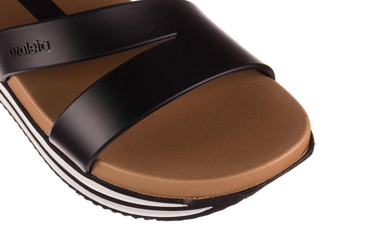 Sandały azaleia 260 497 black, czarny, guma - gumowe - sandały - buty damskie - kobieta 16