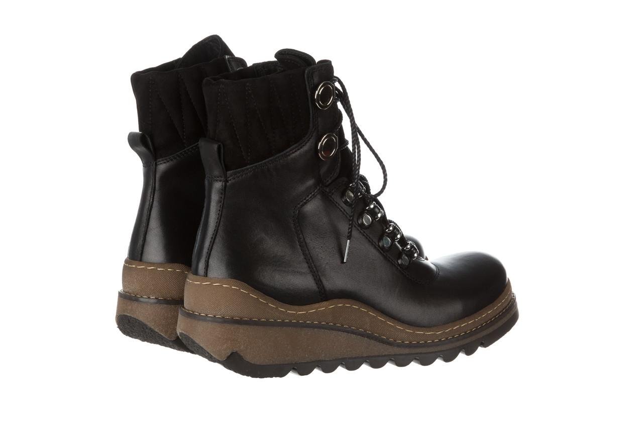 Trzewiki bayla 161 050 0401 9 01 28 black 161168, czarny, skóra naturalna  - trzewiki - buty damskie - kobieta 16