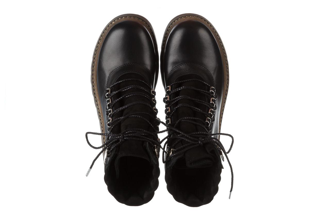 Trzewiki bayla 161 050 0401 9 01 28 black 161168, czarny, skóra naturalna  - trzewiki - buty damskie - kobieta 17