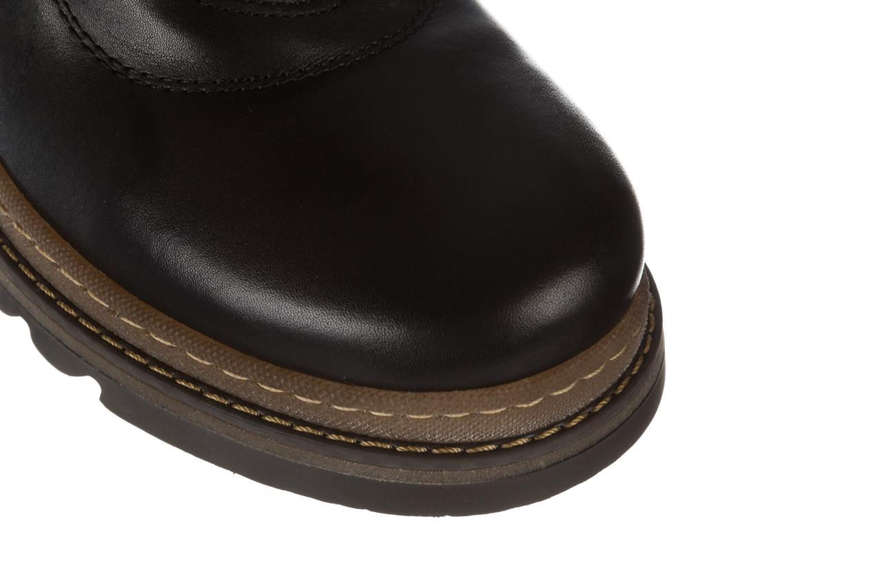 Trzewiki bayla 161 050 0401 9 01 28 black 161168, czarny, skóra naturalna  - trzewiki - buty damskie - kobieta 18