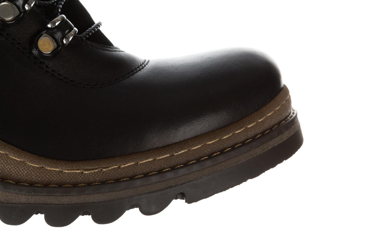 Trzewiki bayla 161 050 0401 9 01 28 black 161168, czarny, skóra naturalna  - trzewiki - buty damskie - kobieta 19