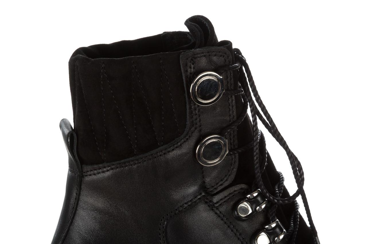 Trzewiki bayla 161 050 0401 9 01 28 black 161168, czarny, skóra naturalna  - trzewiki - buty damskie - kobieta 20