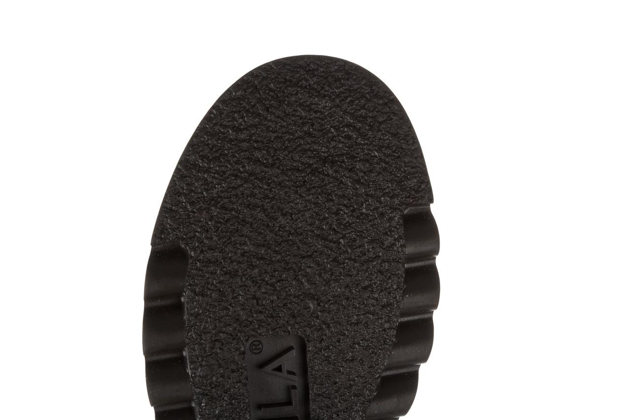 Trzewiki bayla 161 050 0401 9 01 28 black 161168, czarny, skóra naturalna  - trzewiki - buty damskie - kobieta 22