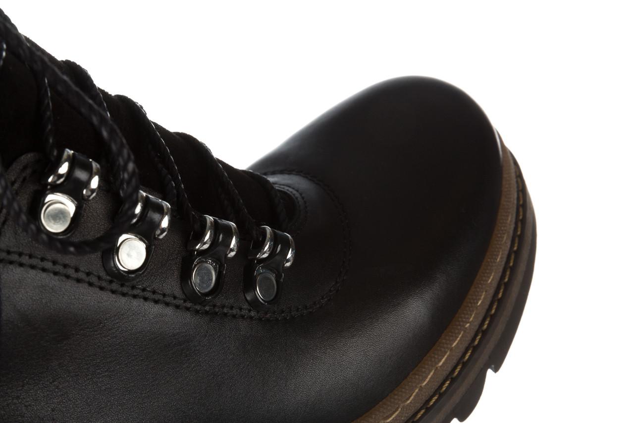 Trzewiki bayla 161 050 0401 9 01 28 black 161168, czarny, skóra naturalna  - trzewiki - buty damskie - kobieta 23