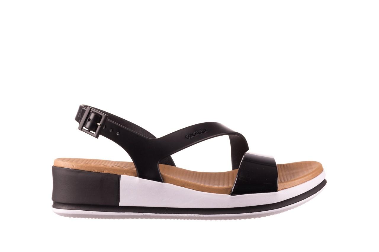 Sandały azaleia 281 584 black, czarny, guma - sandały - dla niej  - sale 7