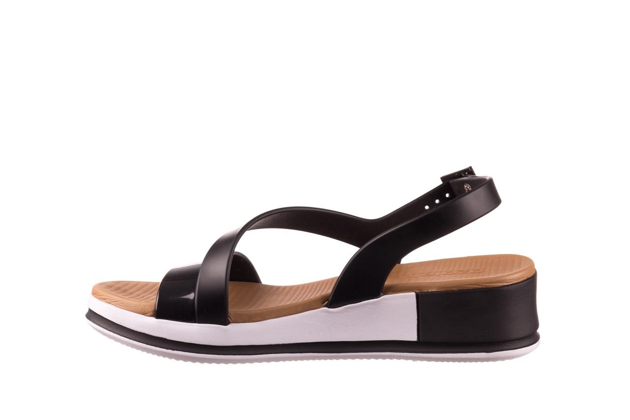 Sandały azaleia 281 584 black, czarny, guma - sandały - dla niej  - sale 9