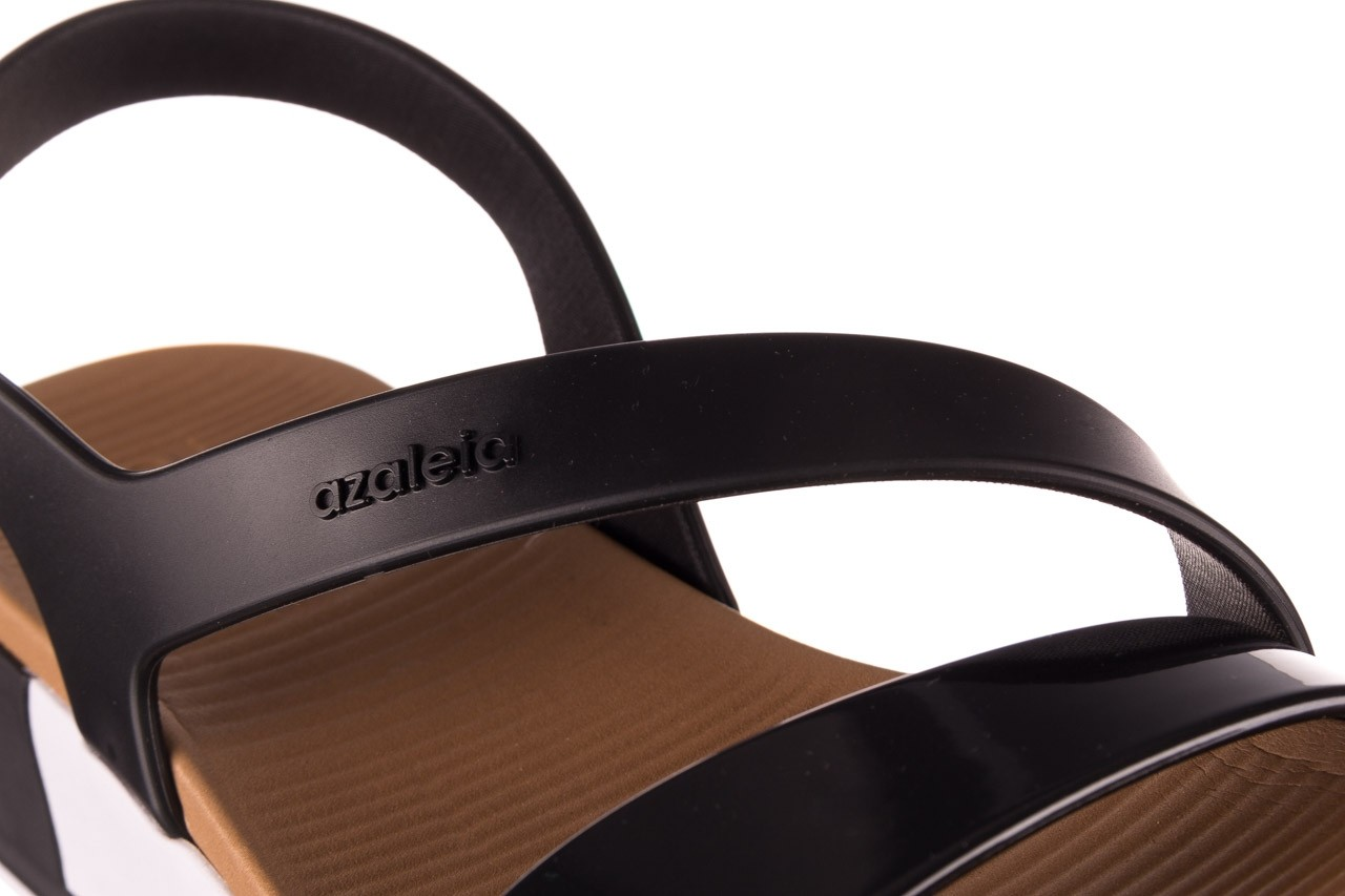 Sandały azaleia 260 497 black, czarny, guma - gumowe - sandały - buty damskie - kobieta 17