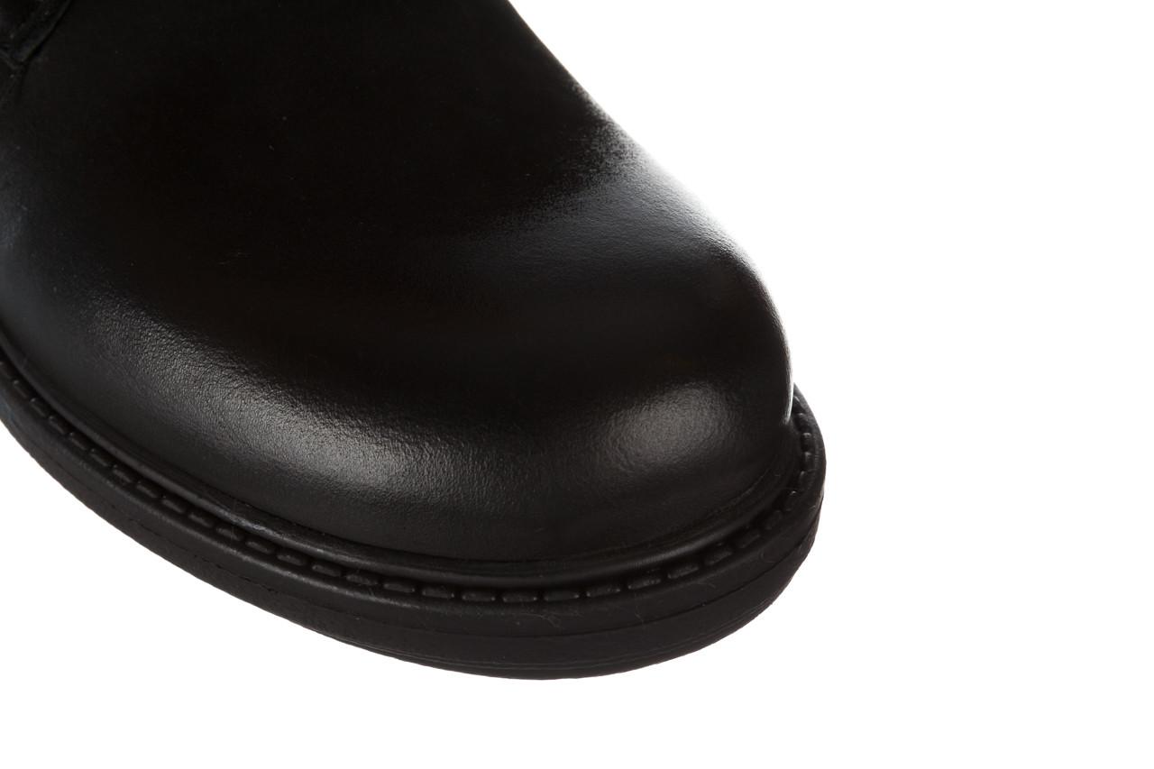 Trzewiki bayla 161 050 2330 010 black nubuck 161173, czarny, skóra naturalna  - trendy - kobieta 19