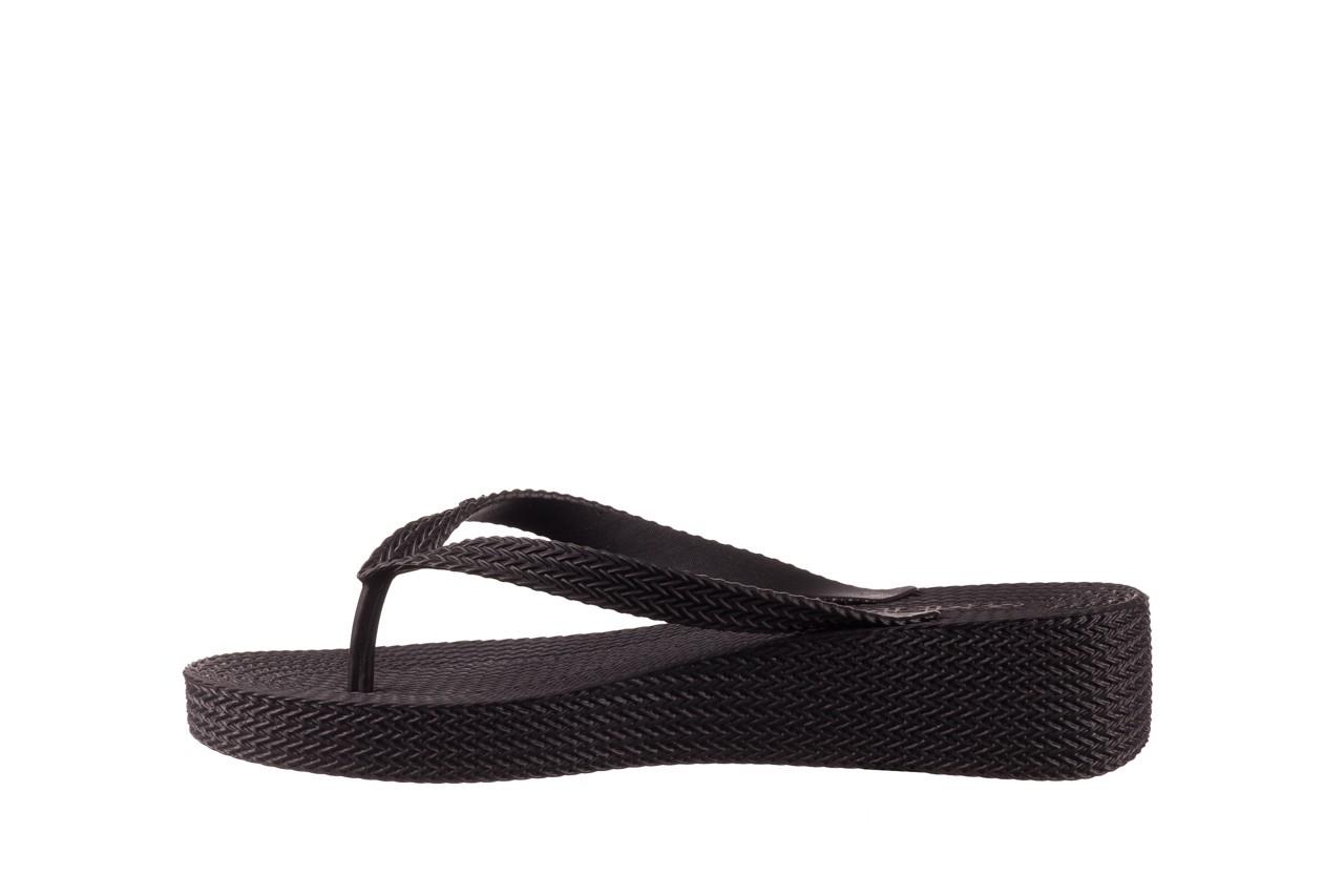 Klapki azaleia 296 505 black, czarny, guma - gumowe/plastikowe - klapki - buty damskie - kobieta 9
