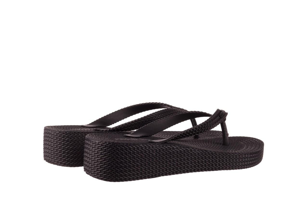 Klapki azaleia 296 505 black, czarny, guma - gumowe/plastikowe - klapki - buty damskie - kobieta 10