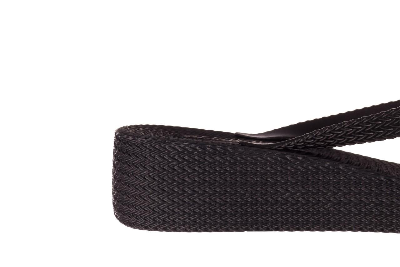 Klapki azaleia 296 505 black, czarny, guma - gumowe/plastikowe - klapki - buty damskie - kobieta 13