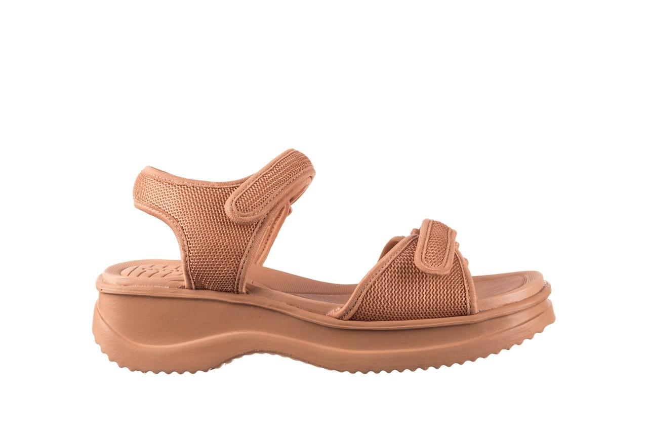 Sandały azaleia 320 321 nude, róż, materiał - sandały - buty damskie - kobieta 7