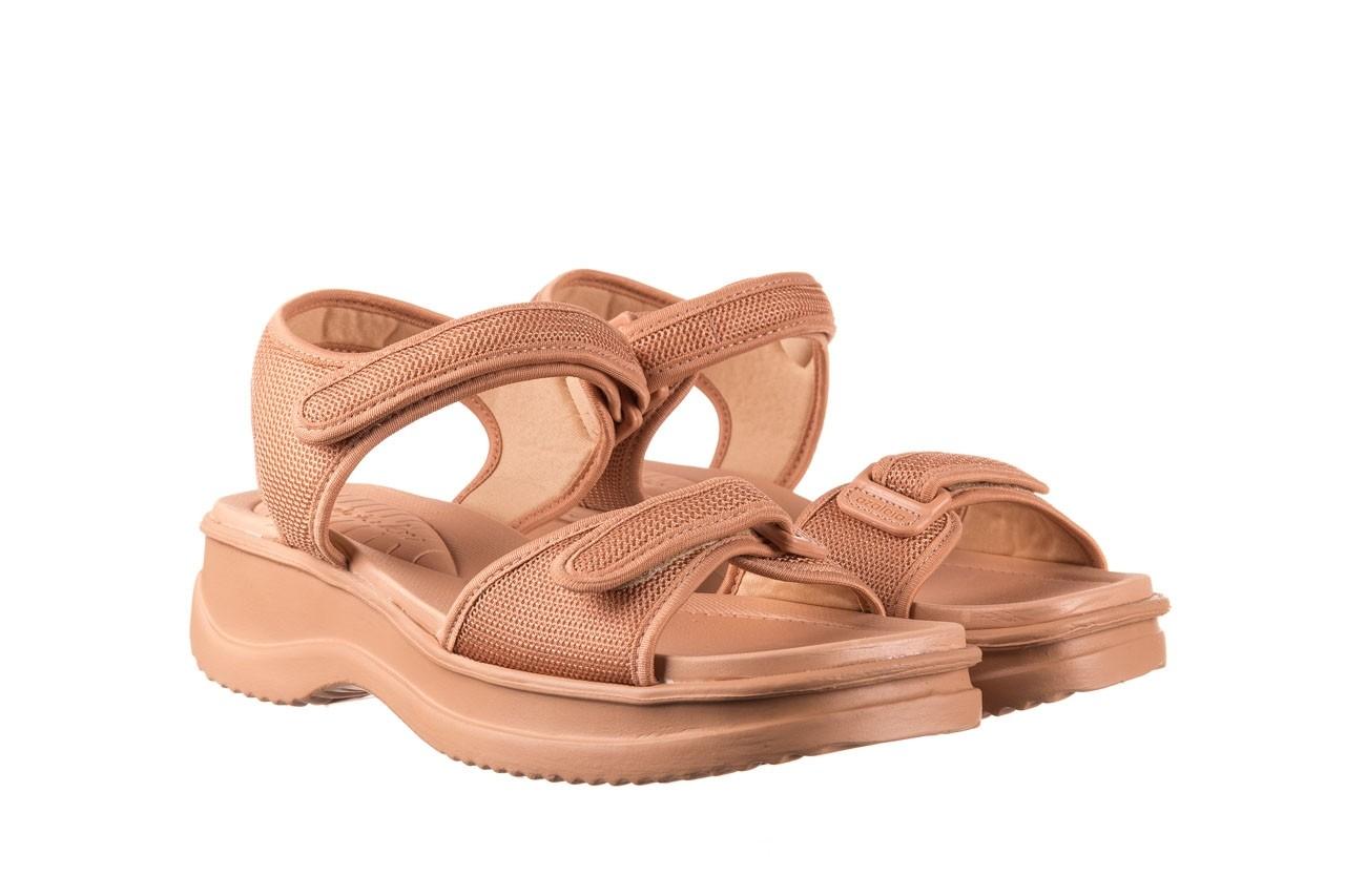 Sandały azaleia 320 321 nude, róż, materiał - sandały - buty damskie - kobieta 8