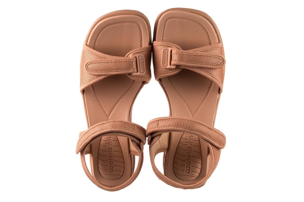 Sandały azaleia 320 321 nude, róż, materiał - sandały - buty damskie - kobieta 11