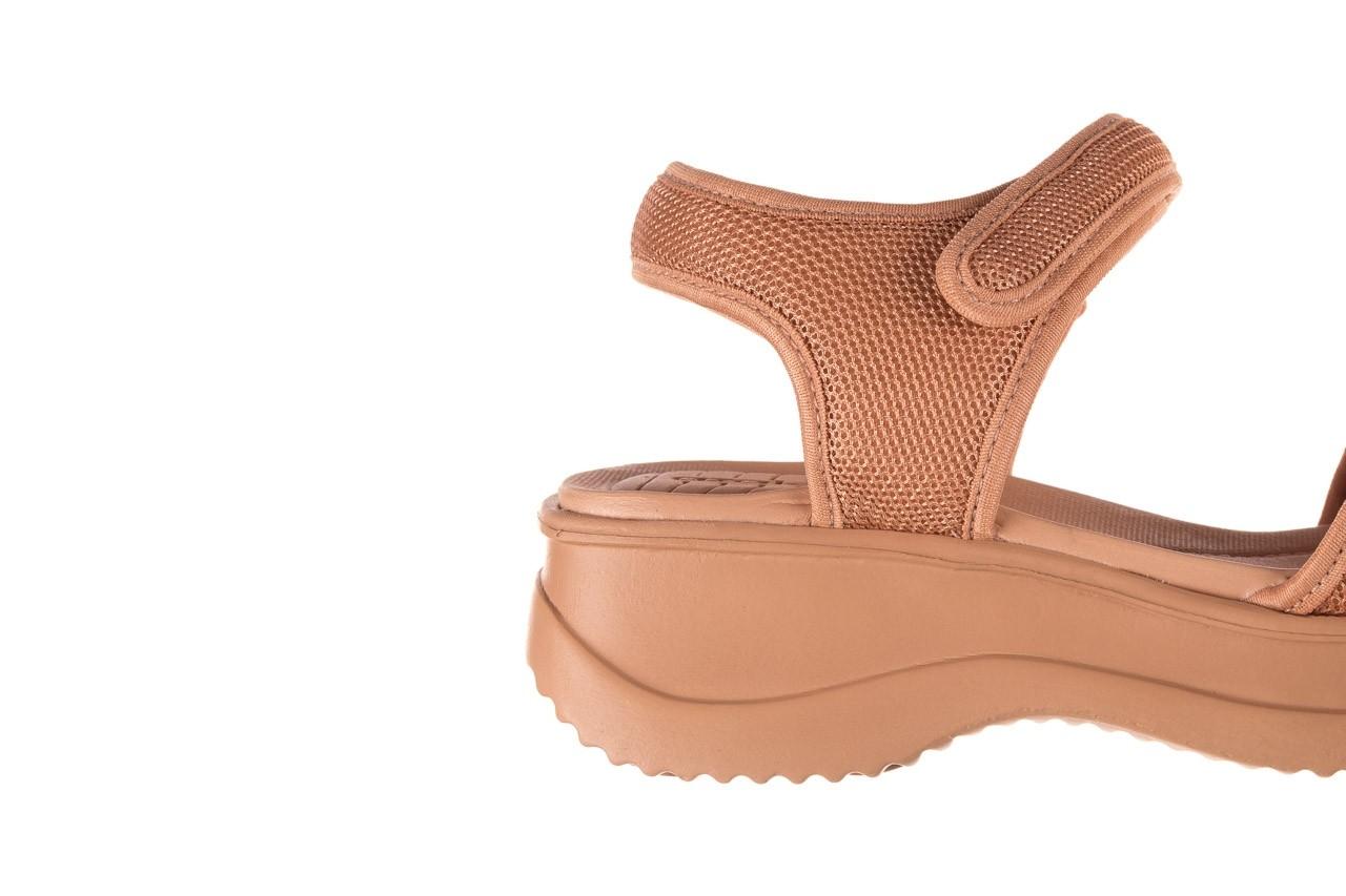 Sandały azaleia 320 321 nude, róż, materiał - sandały - buty damskie - kobieta 13