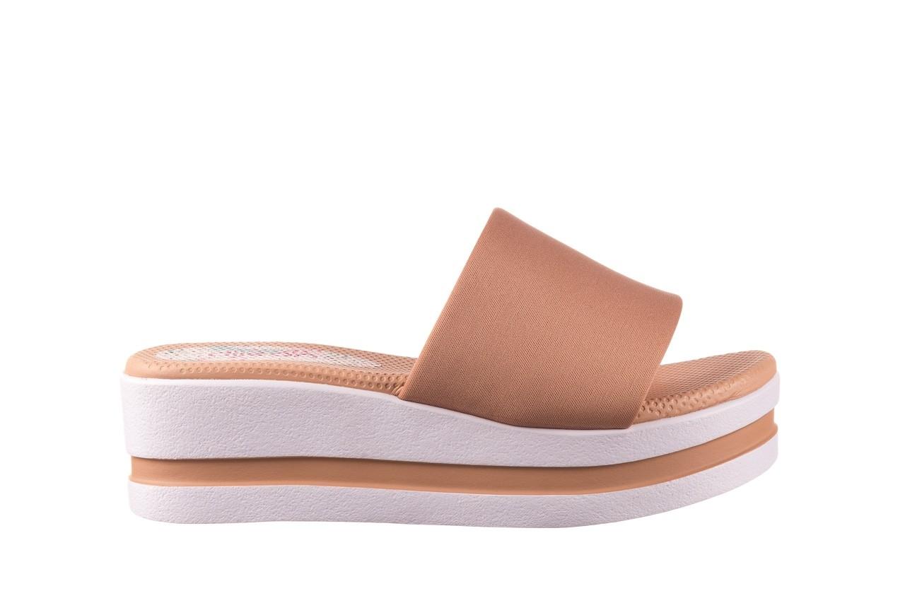 Klapki dijean 485 359 nude, beż, materiał  - klapki - buty damskie - kobieta 7