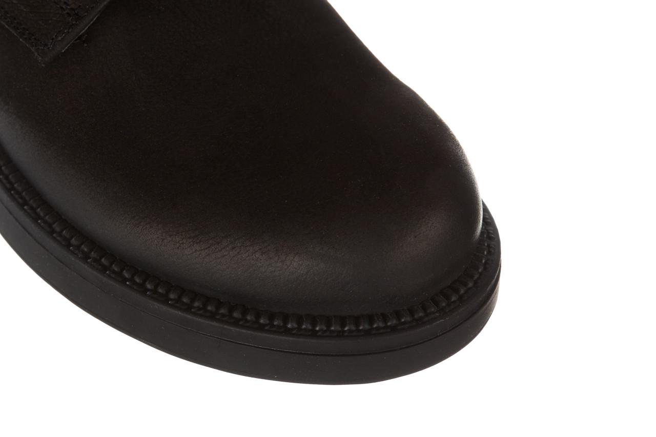 Trzewiki bayla 161 020 56 n1 black nubuck 161165, czarny, skóra naturalna  - kobieta 16