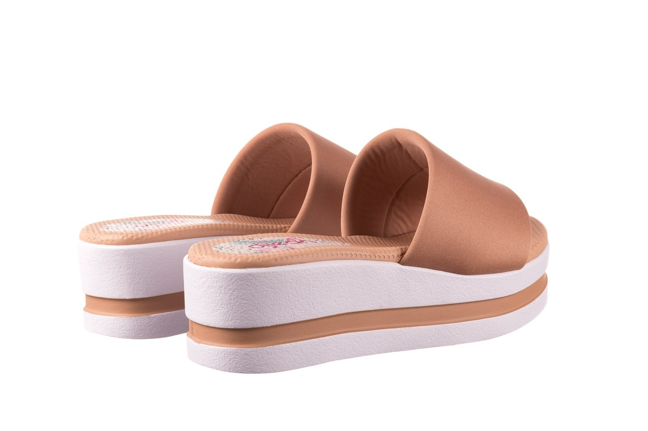 Klapki dijean 485 359 nude, beż, materiał  - klapki - buty damskie - kobieta 10