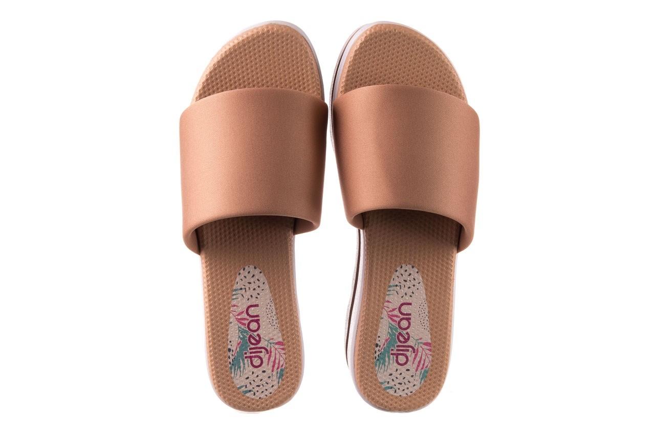 Klapki dijean 485 359 nude, beż, materiał  - klapki - buty damskie - kobieta 11