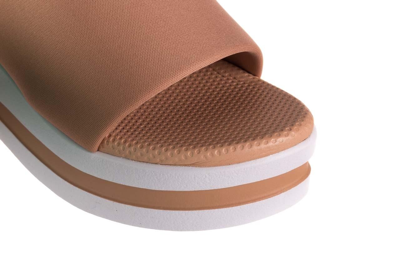 Klapki dijean 485 359 nude, beż, materiał  - klapki - buty damskie - kobieta 12