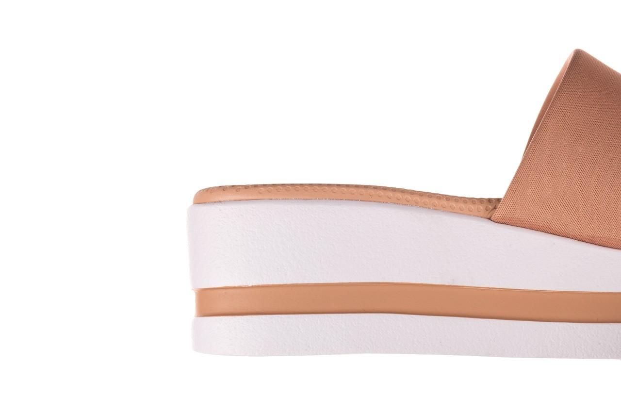 Klapki dijean 485 359 nude, beż, materiał  - klapki - buty damskie - kobieta 13