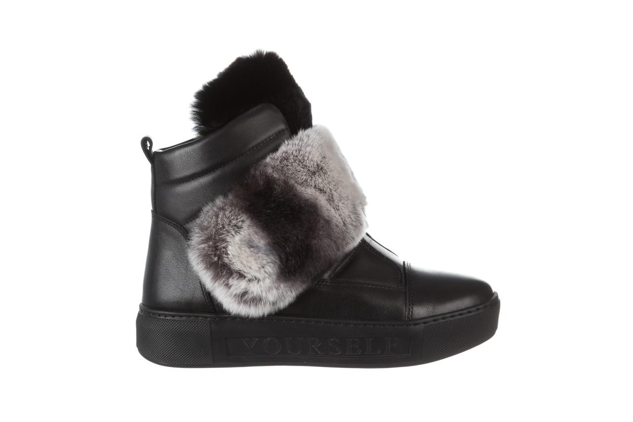 Śniegowce bayla 161 017 2021 02 black 161161, czarny, skóra naturalna  - śniegowce - śniegowce i kalosze - buty damskie - kobieta 12