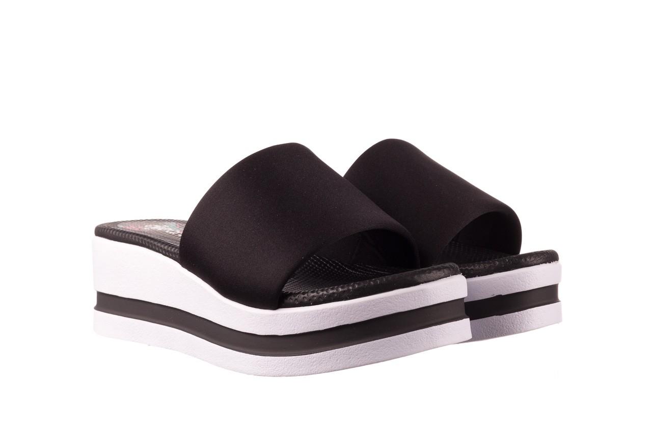 Klapki dijean 485 359 black, czarny, materiał  - klapki - dla niej  - sale 8