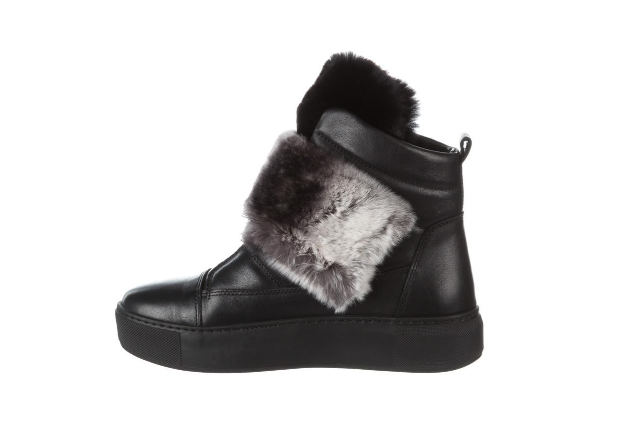 Śniegowce bayla 161 017 2021 02 black 161161, czarny, skóra naturalna  - śniegowce - śniegowce i kalosze - buty damskie - kobieta 15