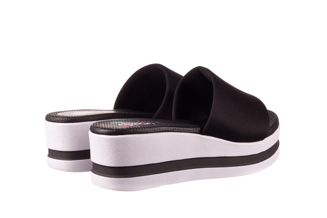 Klapki dijean 485 359 black, czarny, materiał  - klapki - dla niej  - sale 10