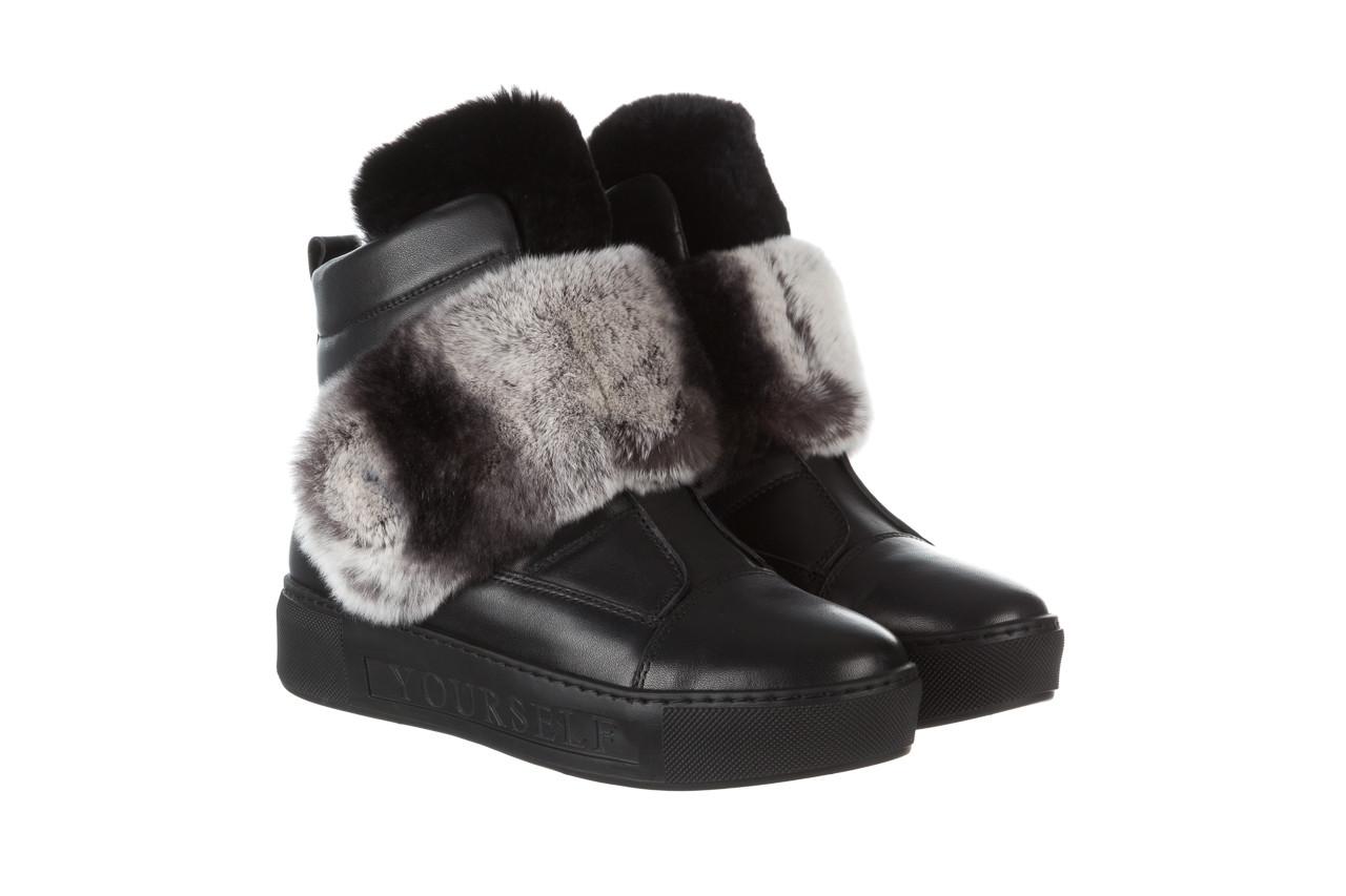 Śniegowce bayla 161 017 2021 02 black 161161, czarny, skóra naturalna  - śniegowce - śniegowce i kalosze - buty damskie - kobieta 13