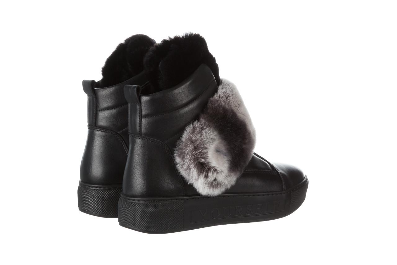 Śniegowce bayla 161 017 2021 02 black 161161, czarny, skóra naturalna  - śniegowce - śniegowce i kalosze - buty damskie - kobieta 16